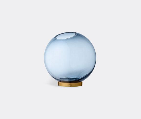 AYTM 'Globe' vase with stand, navy