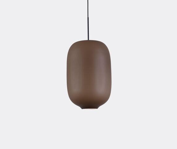 Cappellini 'Arya' hanging lamp, large, brown, UK plug