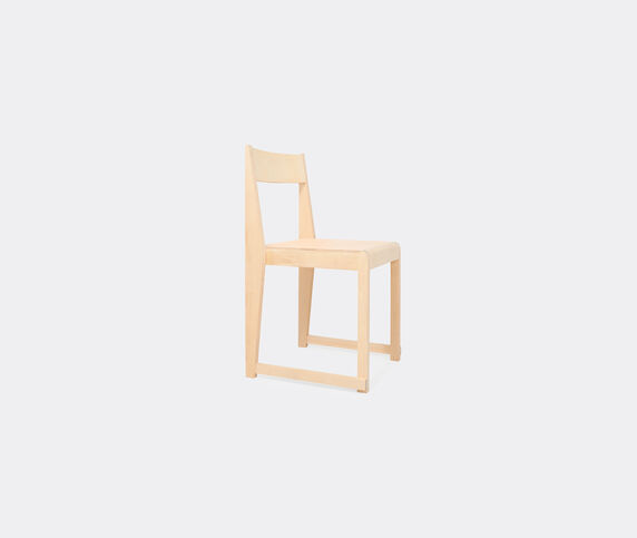 Frama 'Chair 01', wood and leather