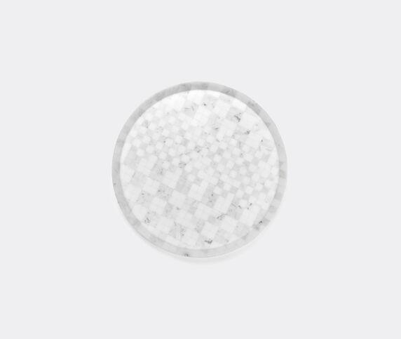 Manuel Coltri 'Hacker' plate, white