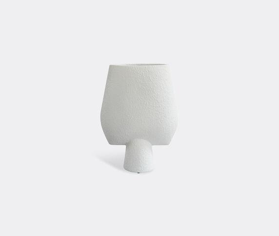 101 Copenhagen 'Sphere' big vase, square, white