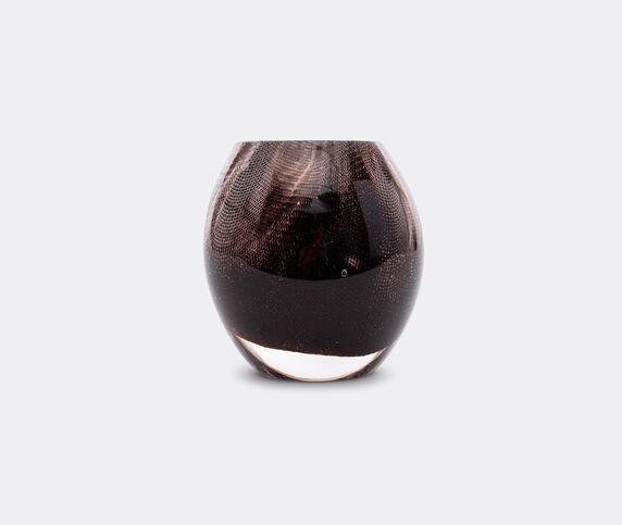 OAO Works '84.2' vase, short, dark brown