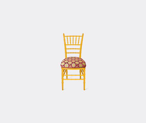 Gucci 'Chiavari' chair, red and yellow
