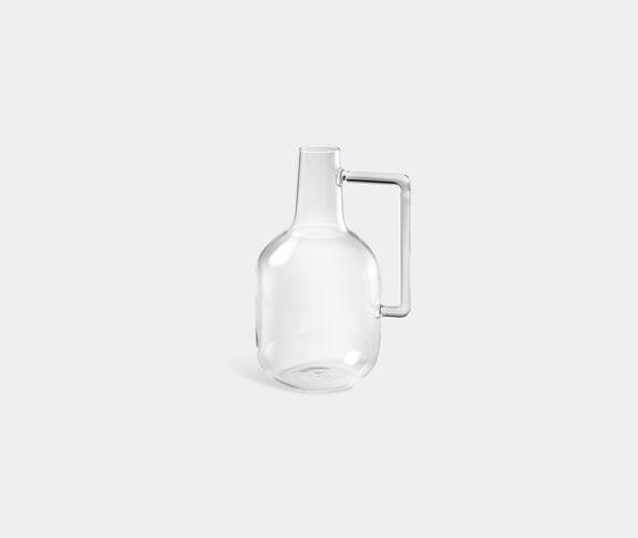 Atipico Boccia Blown-Glass Bottle - Size S - Transparent 1