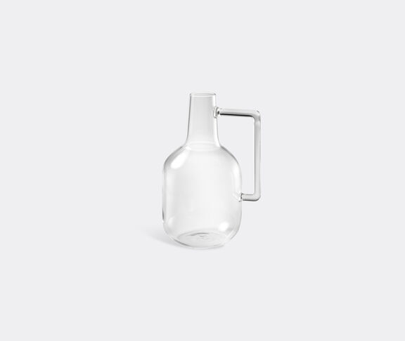 Atipico Boccia Blown-Glass Bottle - Size S - Transparent 2