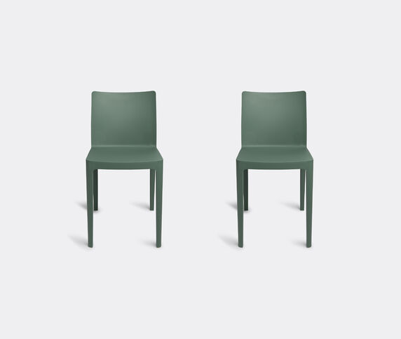 Hay 'Elementaire' chair, set of two, olive