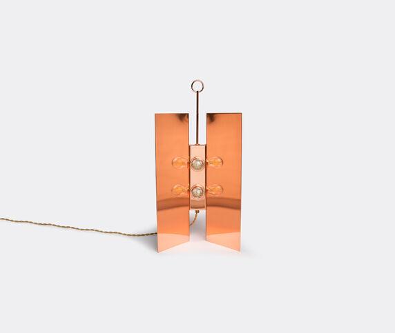 Marta Sala Éditions 'LP1 Claudia Applique' table lamp, copper