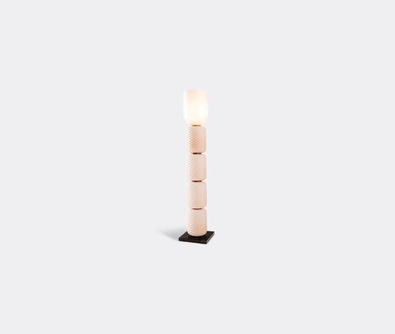 Cassina 'Ficupala' floor lamp, black and pink, UK plug