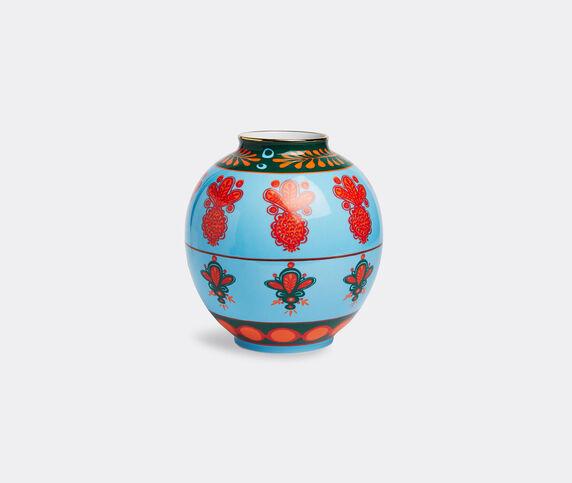 La DoubleJ 'Pineapple Azzurro Bubble' vase