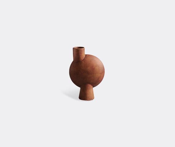 101 Copenhagen 'Sphere' medium vase, bubl, terracotta