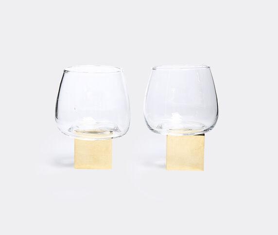 Vanessa Mitrani Whisky Glass Cube Gravity Set Of 2