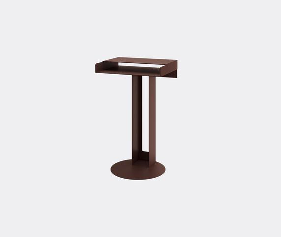 New Tendency 'Meta' side table, sienna