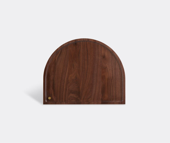 AYTM 'Sessio' tray, brown, rounded