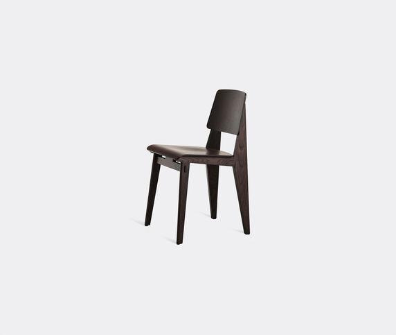 Vitra 'Chaise Tout Bois' chair, dark oak