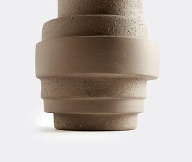 Atipico Pila Ceramic Vase - H.34 Cm.  -  Clay-Brown 3