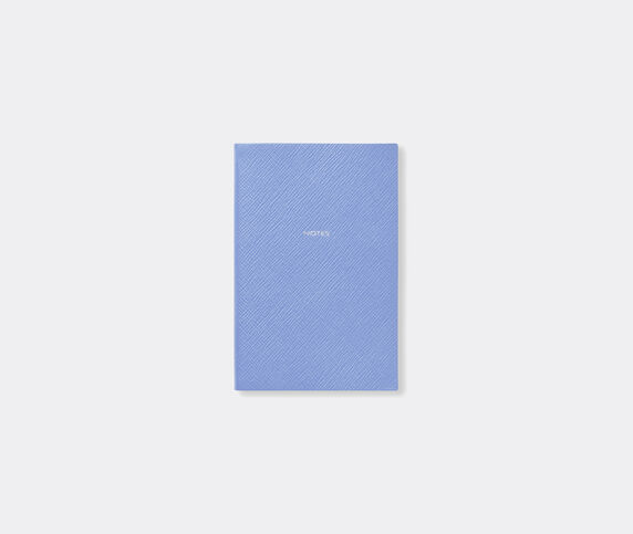 Smythson 'Chelsea' notebook, Nile blue