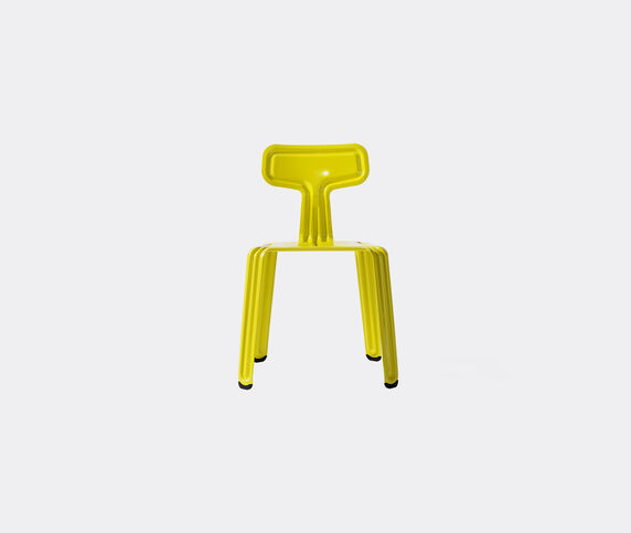 Nils Holger Moormann 'Pressed Chair', glossy yellow