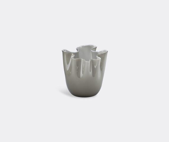 Venini 'Fazzoletto Opalino' vase, M, taupe