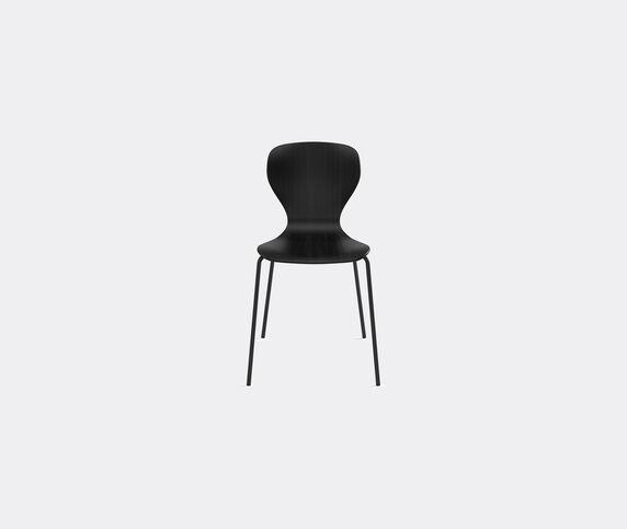 Viccarbe 'Ears' chair, metal legs, black