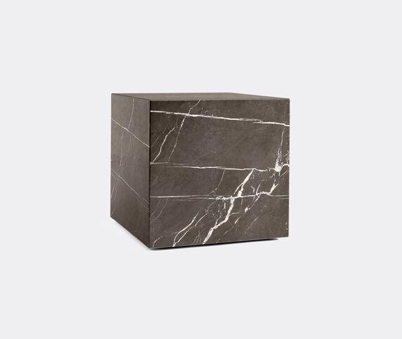 Menu Cubic 'Plinth', brown grey marble