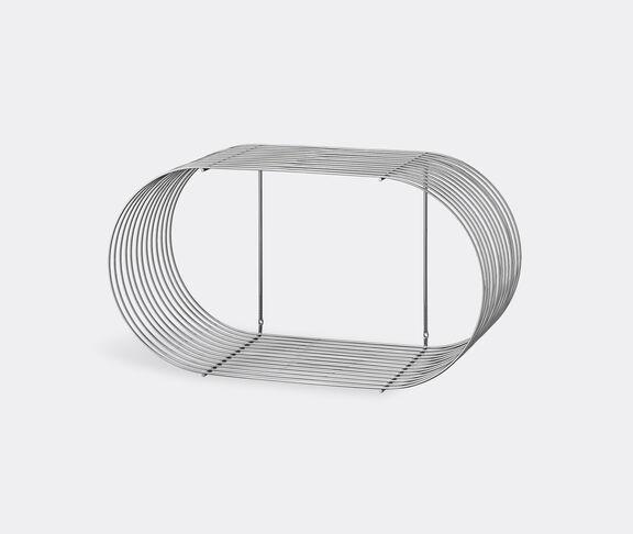 AYTM 'Curva' shelf, silver
