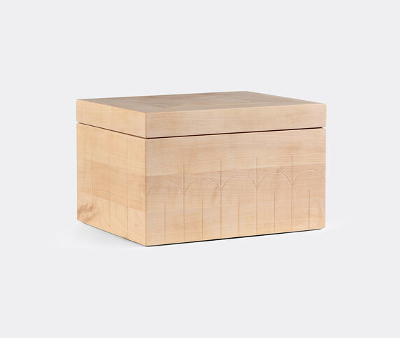 Zanat 'Branco' box, large, beige