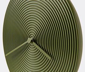 Atipico Ring Clock Ceramic Wall Clock - Ø Mm 335Xh.35 - Olive Green 3