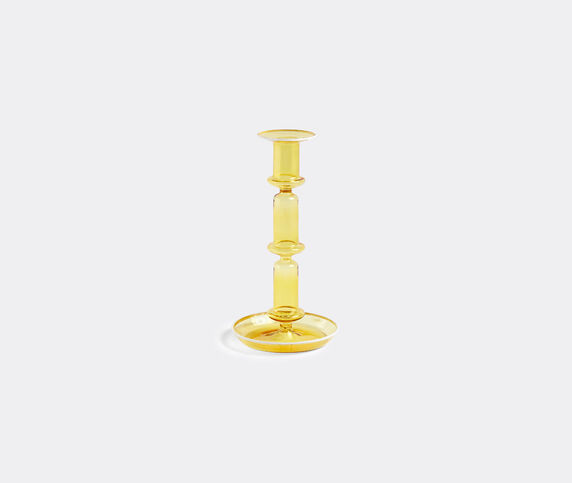 Hay 'Flare' candleholder, tall, yellow