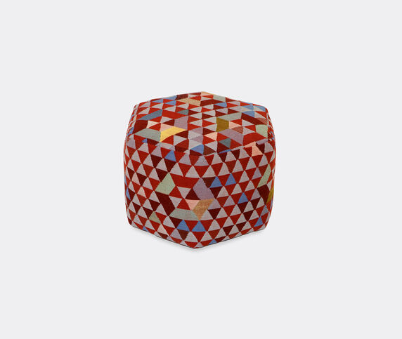 Golran 1898 'Trianglehex' sweet pink tall pouf