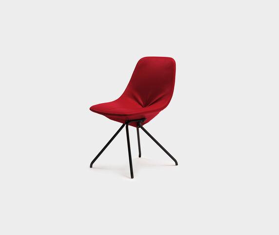 Poltrona Frau 'DU 30' chair, Carminio
