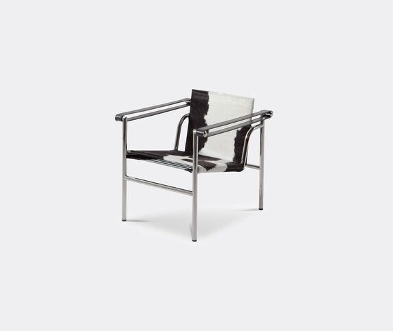 Cassina 'LC1' armchair, hairyskin