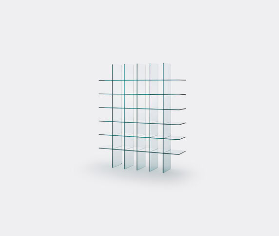 Glas Italia 'Glass shelves'