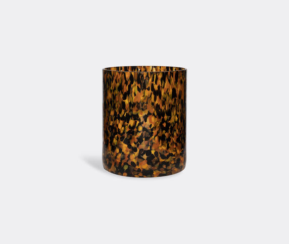 Stories of Italy 'Macchia su Macchia' leopard vase, medium