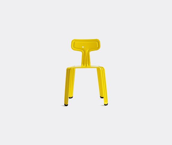 Nils Holger Moormann 'Pressed Chair', glossy fresian yellow