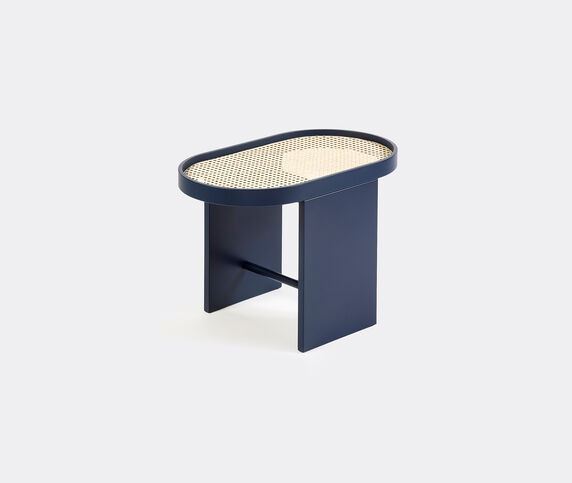 Editions Milano 'Piani' side table, blue