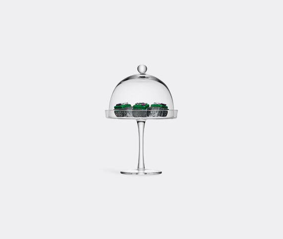 LSA International 'Vienna' cake stand and cover