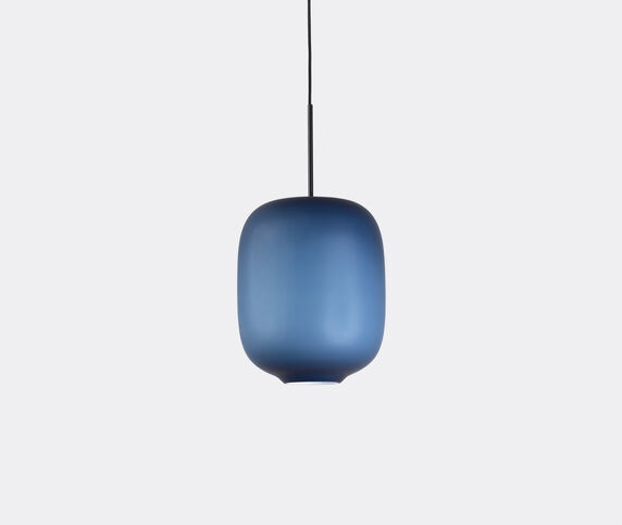 Cappellini 'Arya' hanging lamp, medium, blue, EU plug