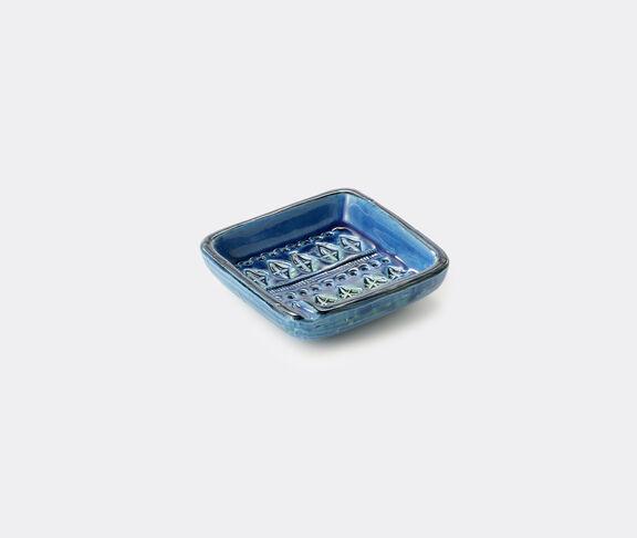 Bitossi Ceramiche 'Rimini Blu' ashtray, squared