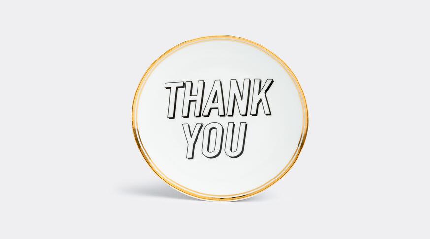Bitossi Home Tavola Scomposta: Plate Thank You 1