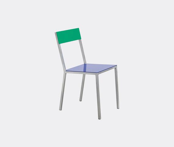 Valerie_objects 'Alu' chair, blue green