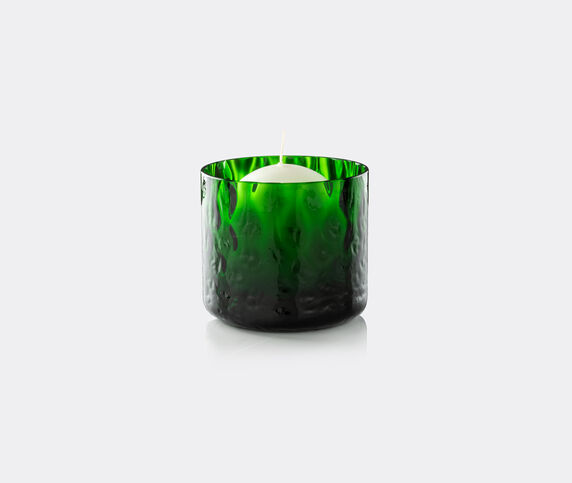 Venini 'Night In Venice' candle, green