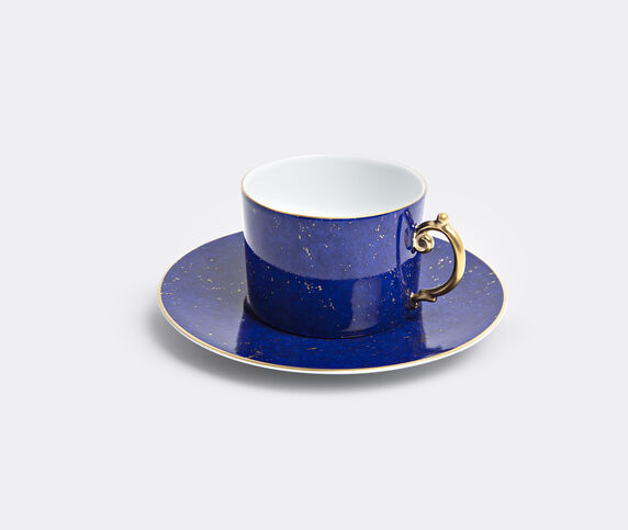 L'Objet 'Lapis' teacup and saucer, set of two