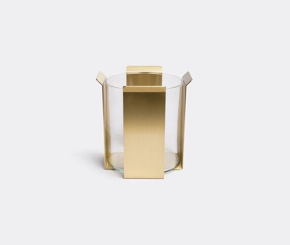 Marta Sala Éditions 'OB2 Tizio' vase, polished brass tall
