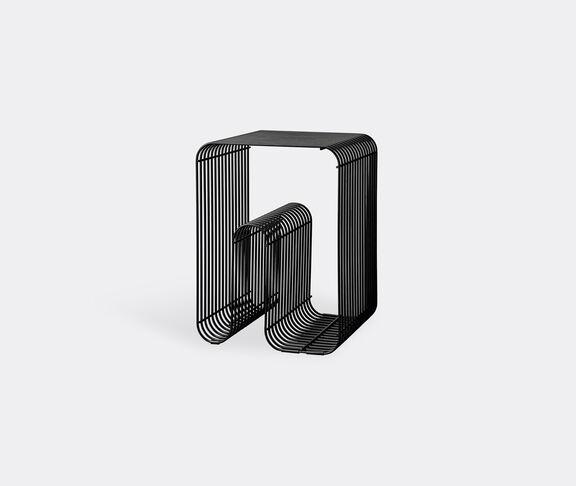 AYTM 'Curva' stool, black