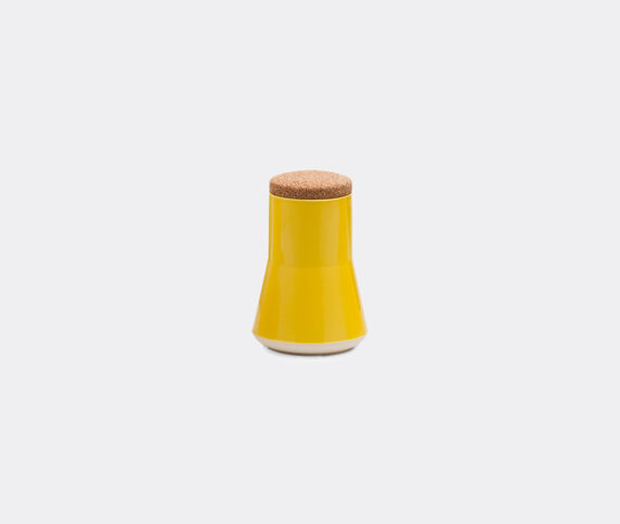 Established & Sons 'Store' jar, L, gloss yellow