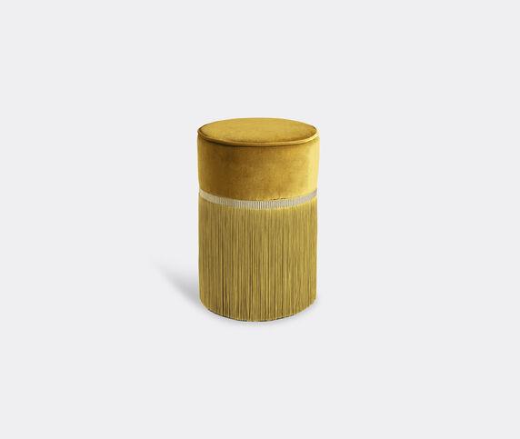 Lorenza Bozzoli Couture 'Couture' ottoman, small, yellow