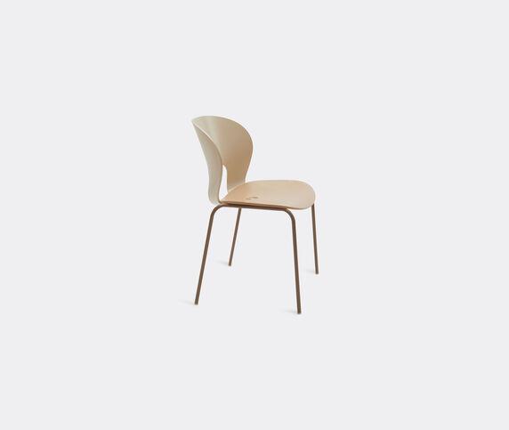 Magnus Olesen 'Chair Ø', beige and brown