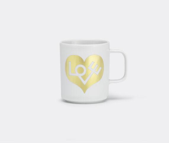 Vitra 'Love Heart' coffee mug, gold, squared handle