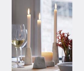 Atipico Tellus Candle Holder - Mm 30/60Xh.110 - Carrara Marble 5