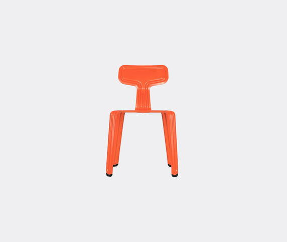 Nils Holger Moormann 'Pressed Chair', glossy orange